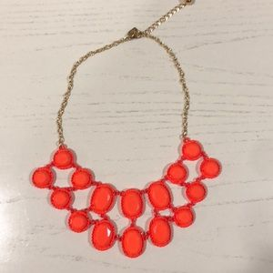 Kate Spade Neon Orange Necklace